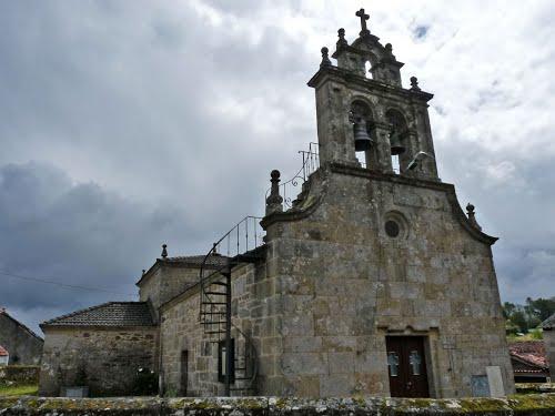 Silleda. Parada. O Cruceiro. Igrexa de Santo Tome. Pontevedra.