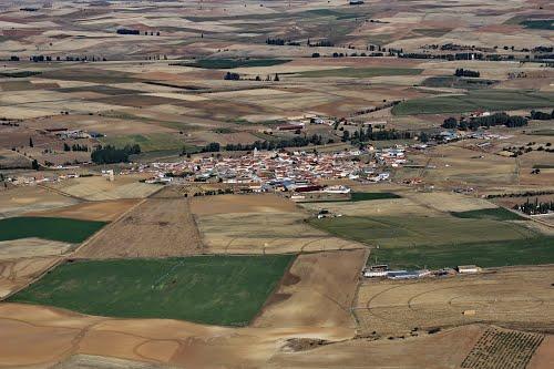 Vista aérea de San Miguel de la Ribera