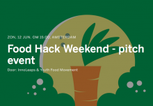 Food hack weekend pitch event