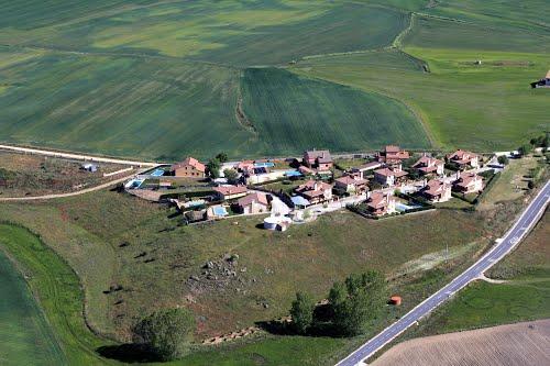 Vista aérea de Mata de Quintanar
