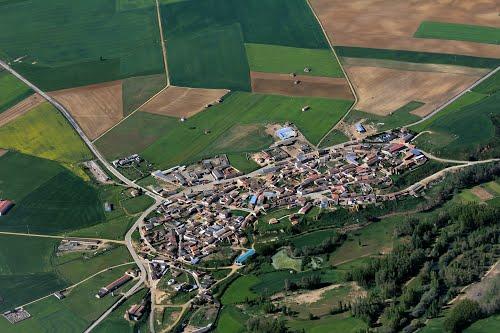 Vista aérea de Melgar de Arriba