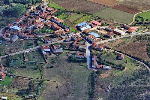 Vista aérea de Otero de Escarpizo