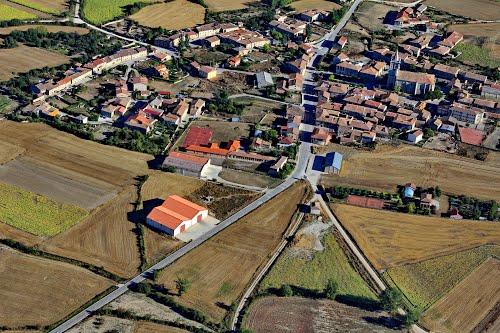 Vista aérea de Santibáñez-Zarzaguda