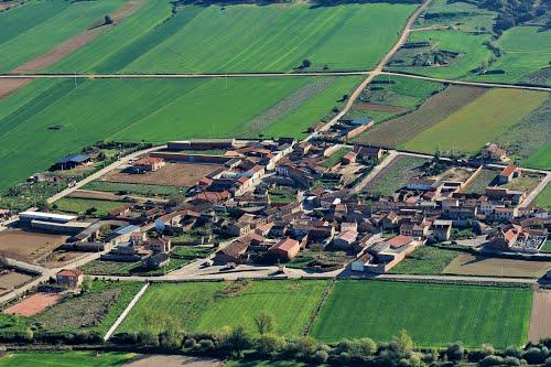 Vista aérea de Villanázar