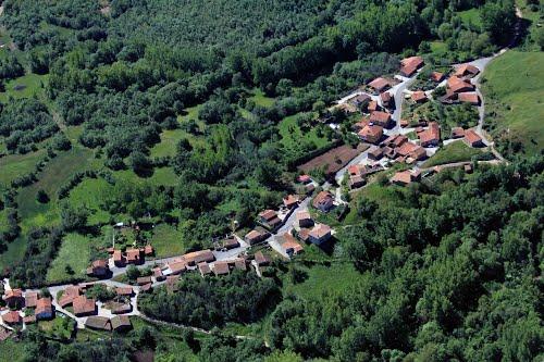 Vista aérea de Villanueva del Carazo