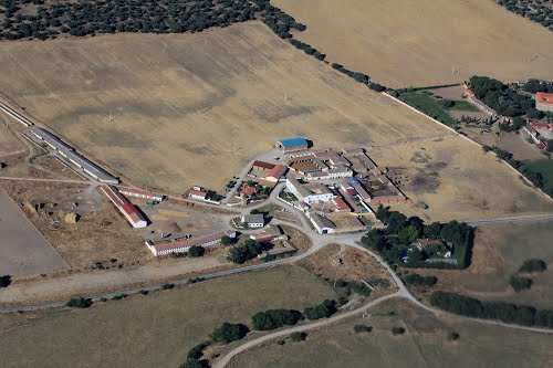 Vista aérea de Convento de Duruelo
