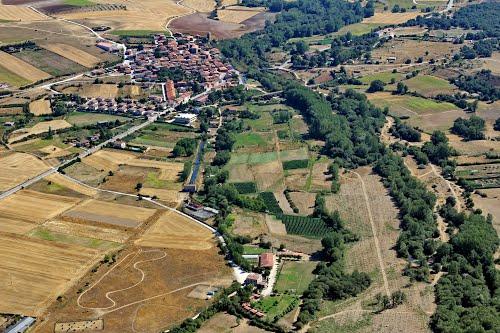 Vista aérea de Arlanzón