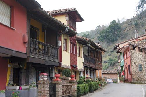 Casas tradicionales en Pivierda.