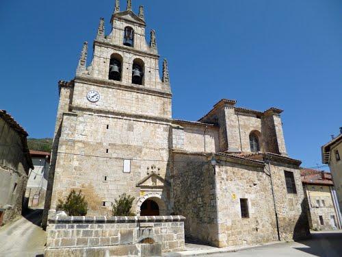 Iglesia de Santa María Magdalena. Monasterio de Rodilla.