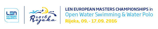 LEN European Masters Championships in Open Water Swimming and Water Polo | Rijeka 2016