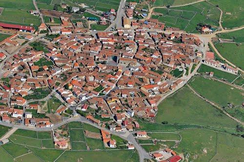 Vista aérea de San Miguel de Serrezuela