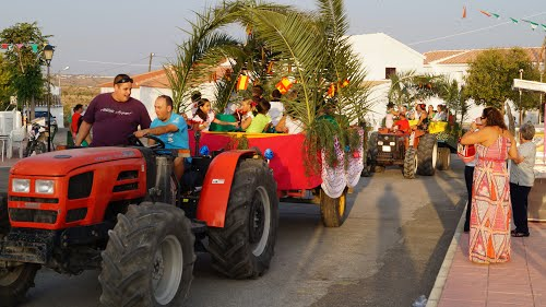 Fiesta Santopetar _ Défilé de chars