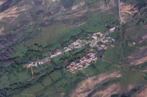 Vista aérea de San Pedro de la Foncollada