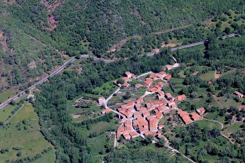 Vista aérea de Castrovido