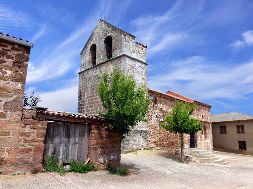 CASILLAS (Atienza-Guadalajara). Sierra Norte. 2014. 504. Iglesia de San Clemente.