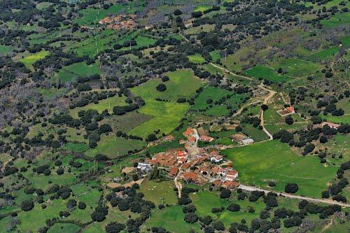 Vista aérea de Nogal y Las Solanillas