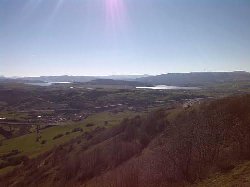 Pantano de Ebro desde el  nacimiento rio Besaya