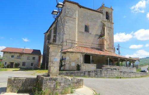 Iglesia parroquial de Okariz (Álava). País Vasco. Spain.