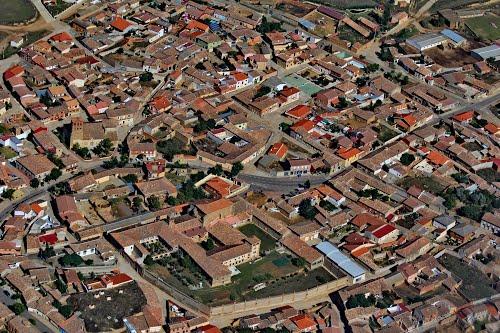 Vista aérea de Villafrechós