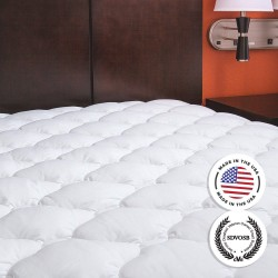 ExceptionalSheets Extra Plush Mattress Pad Queen Review