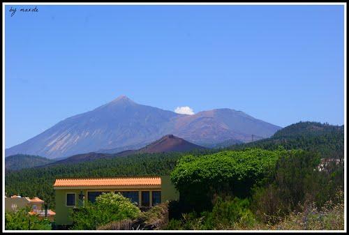 ? El Teide visto desde San José de los Llanos (dedicada a Dácil)