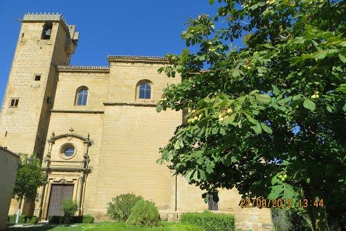 Iglesia parroquial de Nuestra Señora de la Asunción. Samaniego  (Rioja alavesa) . Dedicado a mackedwars , un enamorado de la Rioja.