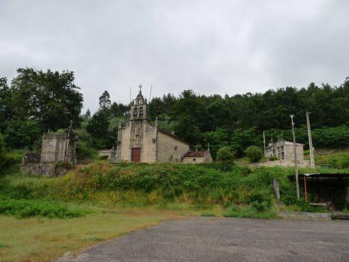 Ponteareas. Paredes. Igrexa de San Cibrao. Pontevedra.