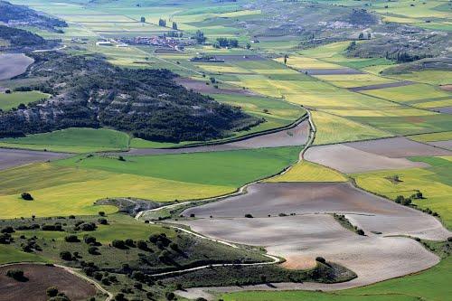 Vista aérea de Villacomancio