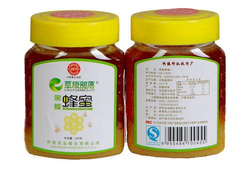 纯天然黑蜂蜂蜜,新疆蜂蜜