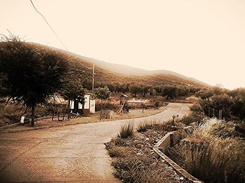 A las afueras de Puerto Hurraco. Agosto de 2013