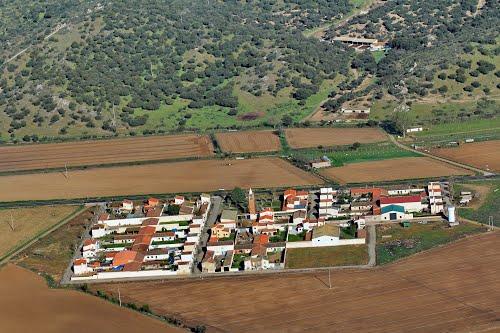 Vista aérea de Torrejón de Alba
