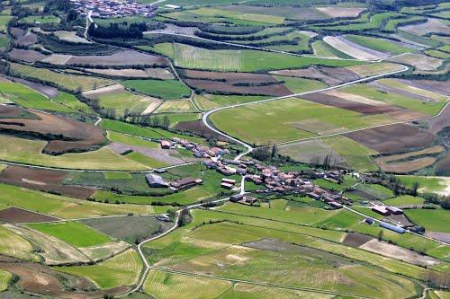 Vista aérea de Pomar de Valdivia