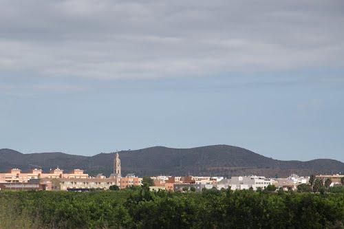 Benidorm - Valencia from a car window