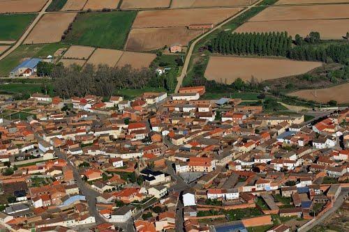 Vista aérea de Burganes de Valverde