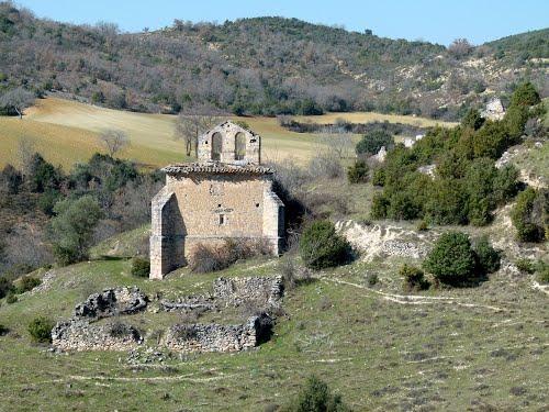 ROMEROSA (Cogolludo-Guadalajara). 2014. 119. DESPOBLADO.  Iglesia de San Pedro (ruinas).