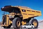 那些巨大的超级工程车