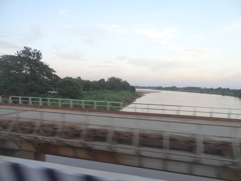 Bridge over Daya River, NH-203, Bhubaneswar to Pipili Road, Odisha