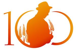 Borlaug 100 logo