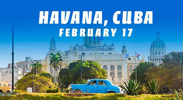 Join us for the post-Midyear Meeting trip to Cuba
