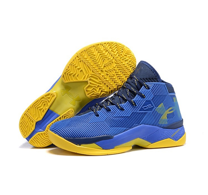Under Armour Stephen Curry 2.5 Shoes Blue Yellow
