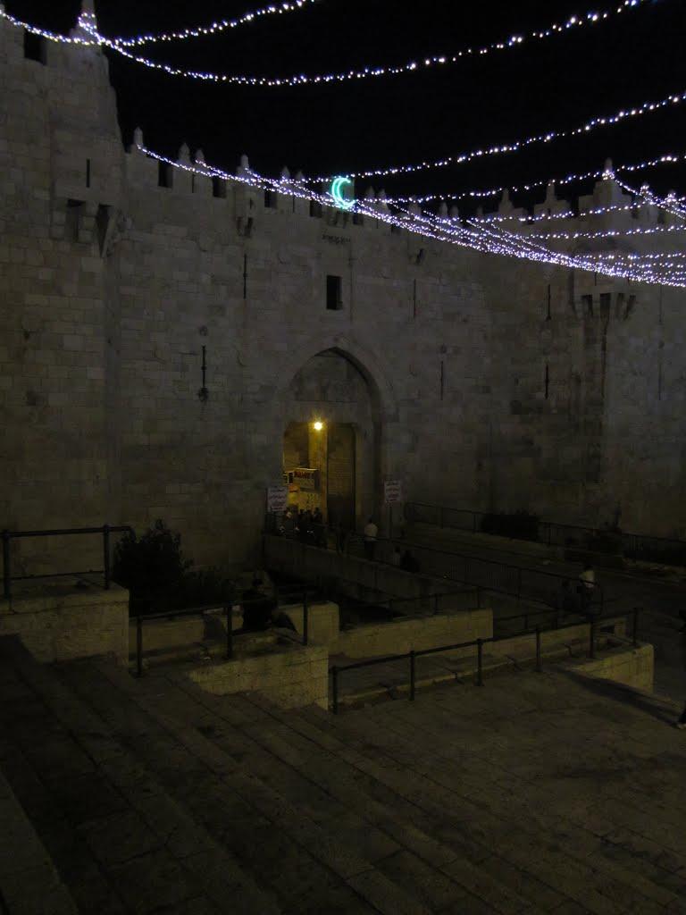 Puerta de Damasco en Ramadán, 2015, Jerusalen