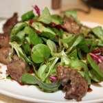 салат из куриной печени рецепт