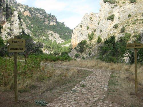 Sendero Huelga-Utrera a Cueva del Agua