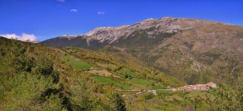 Barbaruens y Sierra de Chía, desde la pista de Armeña
