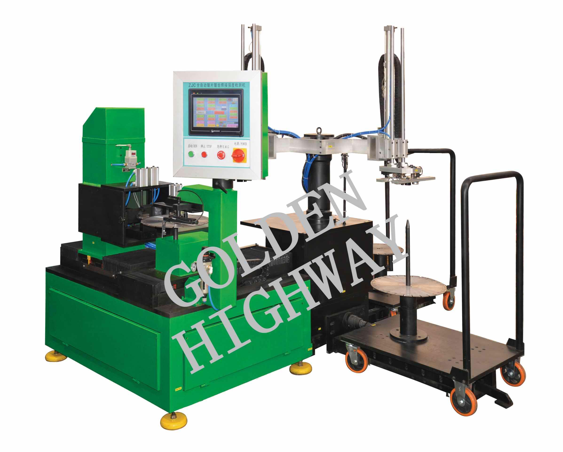 金刚石锯片焊接强度检测机