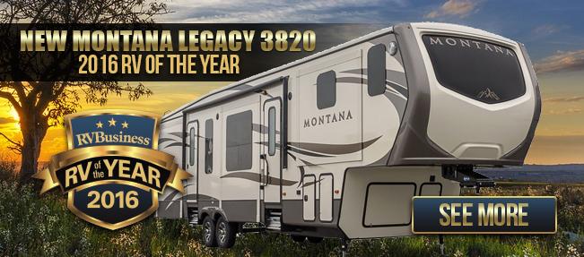 Keystone Montana Best RV of the Year