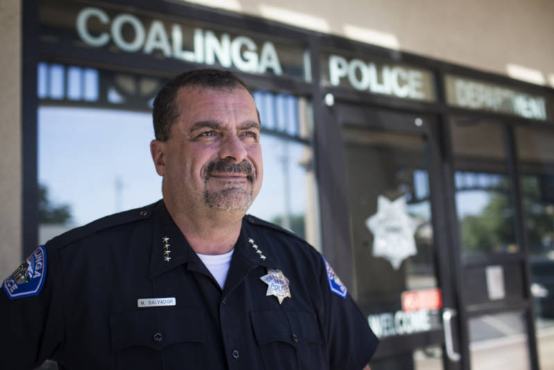Coalinga Police Chief Michael Salvador has been a police officer for 30 years. Salvador says for the past 20 years he's been dealing with the results of Prop. 215 passing – legalizing medical marijuana in California.