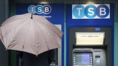 LONDON, ENGLAND - SEPTEMBER 09: TSB (The Trustee Savings Bank) re-opens on September 9, 2013 in London, England. To meet competition rules set by the European Commission, owners Lloyds Banking Group have disposed of a number of branches that will open as the TSB. (Photo by Peter Macdiarmid/Getty Images)
