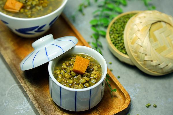 绿豆南瓜汤 清热祛火 解暑必备