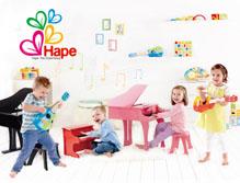 德国Hape怡人玩具品牌形象设计